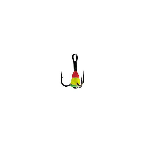 Крючок-Тройник Для Приманок Lucky John С Каплей Тройники для приманок, цепочки<br>Крючок-тройник для приманок Lucky John с каплей <br>цвет. разм.014/RYG разм.14 /расцв.RYG/кол.в уп.10 <br>Тройники VMC с пластиковой цветной каплей. <br>Используется для комплектации балансиров <br>и вертикальных блёсен.<br><br>Сезон: зима