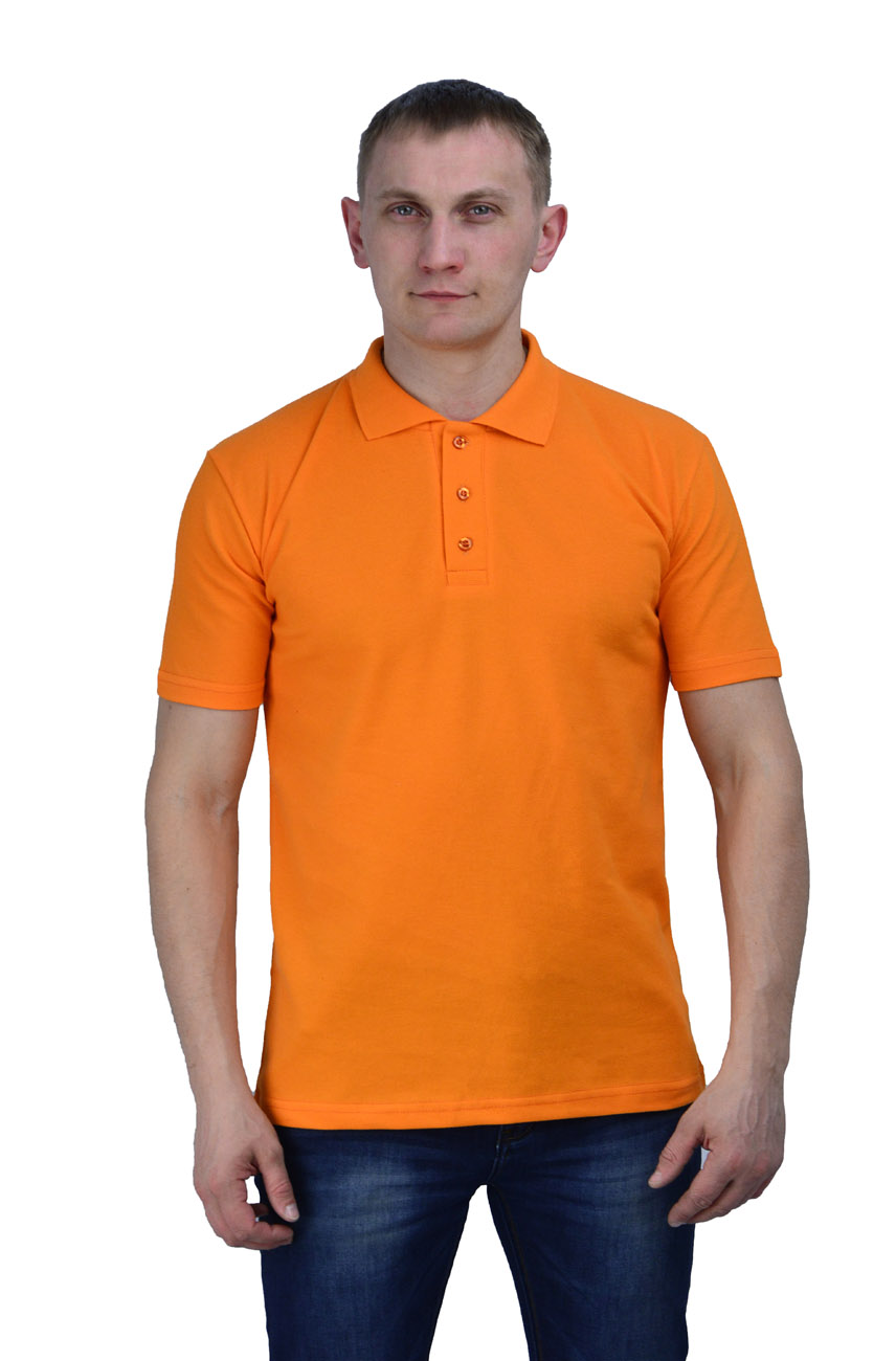 Рубашка-поло оранжевая (M(48))Поло<br>- прямой силуэт - короткий рукав с манжетой <br>- застежка-планка на две пуговицы в цвет <br>Рекомендуется использовать как дополнительный <br>элемент рабочего костюма,в качестве офисной <br>одежды. пл.200 г/м2<br><br>Пол: мужской<br>Размер: M(48)<br>Сезон: лето<br>Цвет: оранжевый<br>Материал: 100% хлопок