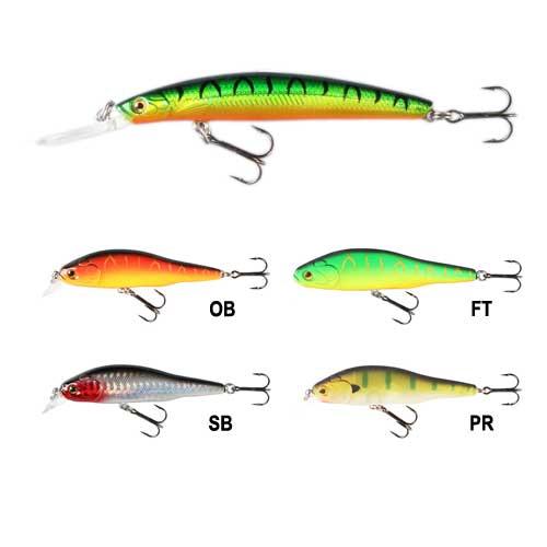 Воблер Fisherman Minnow Цв. SbВоблеры<br>Воблер Fisherman MINNOW цв. SB дл. 75мм/вес 5,5г/глубина <br>до 1,5м/цв. SB/инд. уп. Эта приманка предназначена <br>для ловли на глубинах до 2-2,5м. Воблер можно <br>проводить разными способами: равномерно, <br>с остановками (стоп энд гоу), либо же делать <br>проводку с переменной скоростью, делая <br>периодические паузы.<br><br>Сезон: Летний