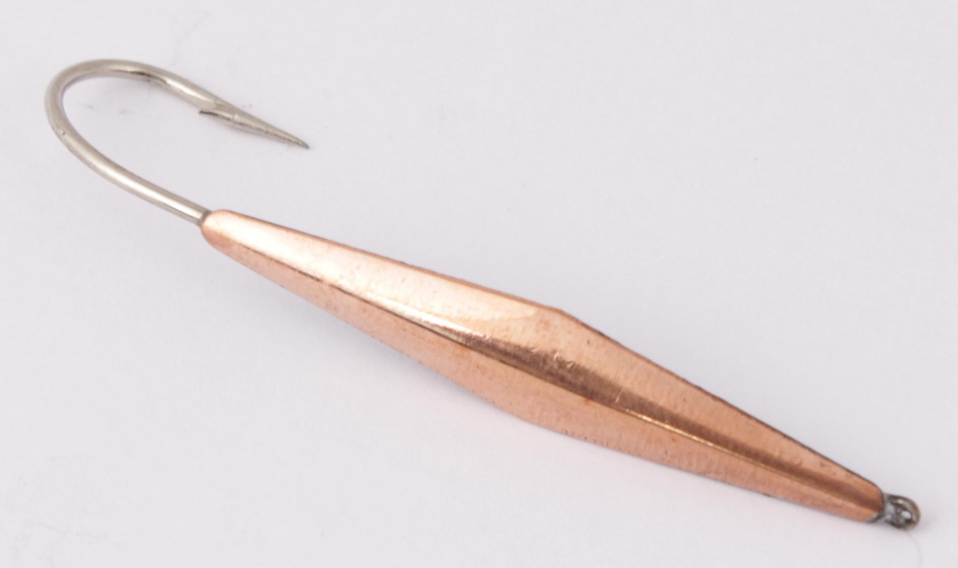 Блесна зимняя DIXXON-RUS Охта (медь) (3гр) (3шт) Блесны зимние<br>Блесна для отвесного блеснения рыбы. Оснащена <br>впаянным одинарником. Вес - 3 г Цвет - медь<br>