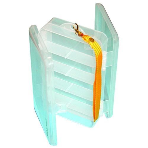 Коробка Рыболовная Двухсторонняя Double Sided Коробки, кейсы<br>Коробка рыболов.двухсторон. Salmo DOUBLE SIDED <br>190х110х48 двухстор. разм.190х110х48(мм) Двусторонняя <br>коробка с отсеками для хранения рыболовных <br>мелочей. Имеется шнурок для переноски.<br><br>Сезон: Летний