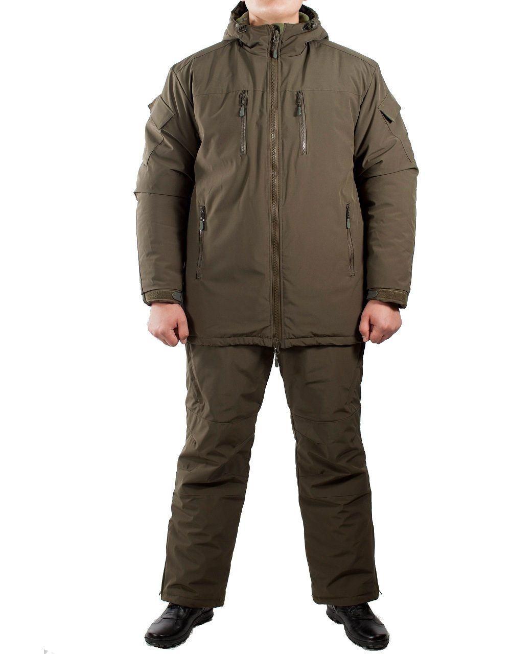 Костюм зимний МПА-38-01 (мембрана, хаки), Magellan Костюмы утепленные<br>Костюм состоит из брюк с плечевой разгрузочной <br>системой, а также куртки со съемным капюшоном <br>и утепляющей подкладкой. Разработан для <br>подразделений воооруженных сил, действующих <br>в условиях экстремального холода (до -50 <br>градусов Цельсия). ХАРАКТЕРИСТИКИ ЗАЩИТА <br>ОТ ХОЛОДА ДЛЯ ИНТЕНСИВНЫХ НАГРУЗОК ДЛЯ <br>АКТИВНОГО ОТДЫХА ТОЛЬКО РУЧНАЯ СТИРКА МАТЕРИАЛЫ <br>МЕМБРАНА УТЕПЛИТЕЛЬ ФАЙБЕРСОФТ<br><br>Пол: мужской<br>Размер: 44<br>Рост: 164<br>Сезон: зима<br>Цвет: оливковый<br>Материал: мембрана