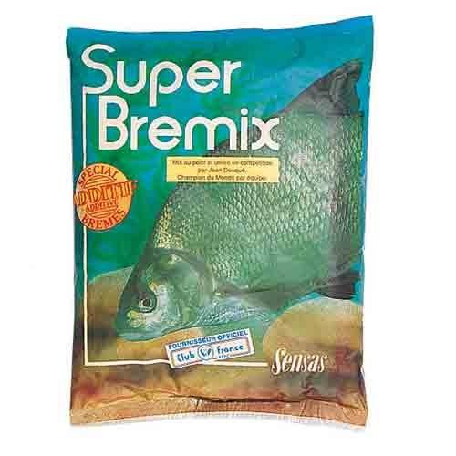 Добавка В Прикормку Sensas Super Bremix 0.3КгАроматизаторы<br>Добавка в прикормку Sensas SUPER Bremix 0.3кг сух.порошок/лещ/пакет <br>на 3кг/уп.0,3кг Очень эффективная добавка <br>в прикормку для леща и другой крупной рыбы.<br><br>Сезон: лето