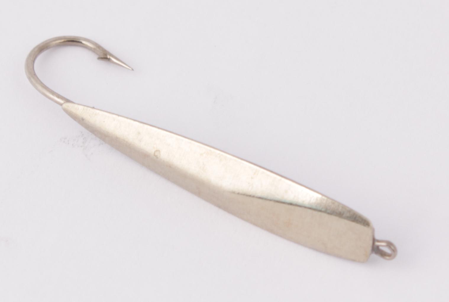 Блесна зимняя DIXXON-RUS Катет-Т (никель)(2,3г) Блесны<br>Блесна для отвесного блеснения рыбы. Оснащена <br>подвесным тройником. Вес - 2,3 г Цвет - никель<br>
