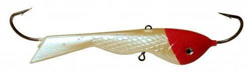 Балансир DIXXON БЫЧОК ( цвет 06 ) 69 г/ 82 ммБалансиры<br>Тяжелый балансир для ловли со льда. Оснащен <br>высококачественными впаянными крючками <br>пр-во Корея. Подвесной тройник MUSTAD с каплей. <br>Застежка - MARUTO (Япония)<br>