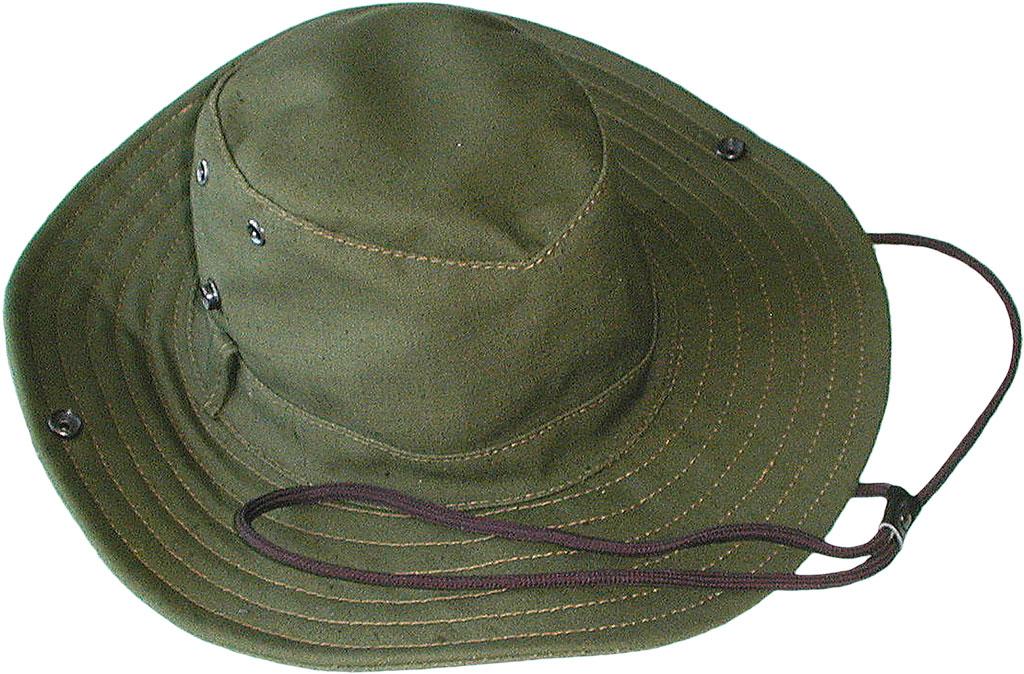 Шляпа ХСН «Шериф» авизент (61, 941)Шляпы<br>Идеальный вариант для загородных поездок, <br>на природу, в путешествие, на рыбалку - охоту. <br>Изготовлена из авизента. Защитит от солнца <br>- насекомых. Комфортная температура эксплуатации: <br>от +15°С до +25°С. Особенности: - поля пристёгиваются <br>к тулье на кнопки; - вентиляционные отверстия; <br>- для удобного ношения снабжена шнуром.<br><br>Пол: мужской<br>Размер: 61<br>Сезон: лето<br>Цвет: хаки<br>Материал: Авизент