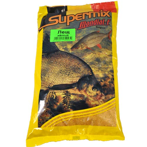 Прикормка Mondial-F Supermix Bream Yellow 1Кг 49743