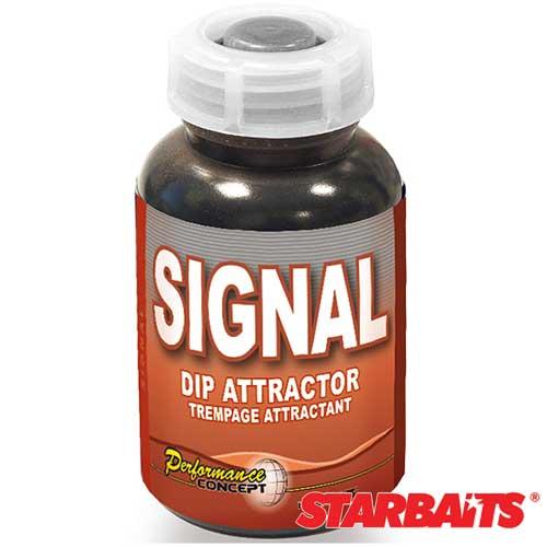 Ароматизатор Starbaits Dip Signal 0.2ЛАроматизаторы<br>Ароматизатор Starbaits DIP SIGNAL 0.2л 200мл/уп. 6 шт. <br>Это ещё одна группа кормов из серии Performance <br>Concept, состоящих исключительно из натуральных <br>компонентов. Корма этой группы отличает <br>мягкий вкус. Они изготовлены из компонентов, <br>входящих в состав натурального корма, которым <br>питаются карпы. В этих бойлах не содержится <br>искусственных компонентов или ароматических <br>добавок. Подходят для круглогодичного использования.<br><br>Сезон: лето