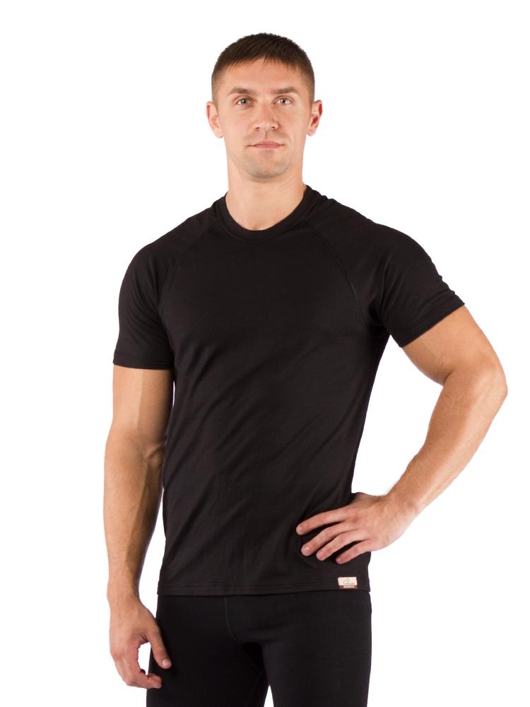 Футболка мужская Lasting Quido, черная АвантмаркетФуфайка<br>Описание мужской футболки Lasting Quido: Мужская <br>термофутболка из шерсти Merino wool 160g Light - тонкий <br>однослойный материал, который обеспечивает <br>быстрое испарение пота и идеальную сухость <br>Вашей кожи во время занятий спортом или <br>другой подвижной деятельности. Рекомендовано <br>для использования как летом в качестве <br>единственного слоя одежды, так и в переходной <br>период – как нижние белье. Особенности: <br>- Мужское термобельё - Мягкая, не колющаяся <br>шерсть - Тяжело воспламеняемый Применение: <br>спорт на открытом воздухе, повседневное <br>использование, треккинг, охота, яхта Материал: <br>100% Merino wool 160 g Light Таблица размеров мужского <br>(unisex) термобелья Lasting Размер M L XL XXL Рост 165 <br>- 170 171 - 175 176 - 180 181 - 185 Обхват груди 92-96 96-104 <br>104-108 108-112 Обхват талии 84-90 91-96 97-103 104-110 Обхват <br>бедер 90-94 94-98 98-104 104-108 Длина штанины 100 103 <br>107 110<br><br>Материал: {шерсть, плотность 160 г/м2}