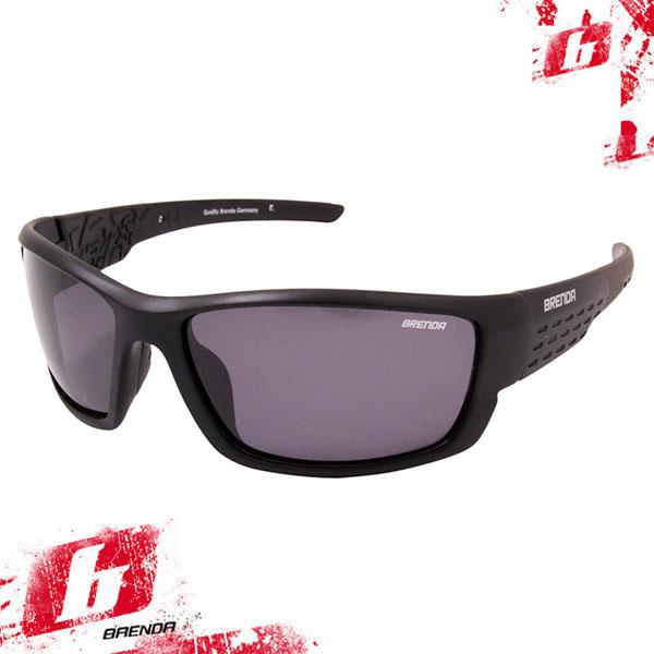Очки поляризационные BRENDA мод.R348 m.black/smoke BRENDAsportsunglasses ОЧК105