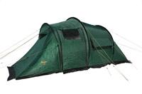 Палатка Canadian Camper TANGA 5 (цвет woodland дуги 9,5 Палатки<br>TANGARA 3/ TANGA 3 / TANGA 5– комфортные палатки для <br>туризма. Их классическая форма «полубочка» <br>- пользуется заслуженной популярностью <br>у туристов, благодаря небольшому весу, легкой <br>установке, просторному спальному отделению <br>и большому тамбуру, двери и окна которого <br>имеют полно размерные антимоскитные сетки. <br>Дверь тамбура также можно использовать <br>как дополнительный козырек над входом. <br>Для обеспечения максимального комфорта <br>– спальное отделение имеет два входа и <br>два вентиляционных окна, которые оборудованы <br>антимоскитными сетками. Для увеличения <br>внутреннего пространства Вы можете снять <br>или не устанавливать спальное отделение. <br>Палатки выпускается в двух цветовых решениях <br>– ROYAL и WOODLAND Палатка TANGARA 3 отличается от <br>палатки TANGA 3 формой задней части спального <br>отделения. Не комплектуется полом для тамбура.<br><br>Сезон: лето<br>Цвет: зеленый