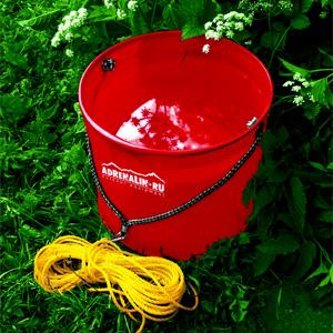 Складное ведро Adrenalin Waterbag ведра хозяйственные bradex ведро складное силиконовое