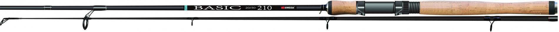 Спиннинг шт. SWD BASIC 2,4м карбон IM6 (5-20г)Спинниги<br>Бюджетный штекерный спиннинг длиной 2,4м <br>и тестом 5-20г, выполненный из карбона IM6. <br>Комплектуется качественными пропускными <br>кольцами SIС, современным катушкодержателем. <br>Рукоять спиннинга изготовлена из пробки. <br>Несмотря на не высокую цену, спиннинг обладает <br>быстрым строем, имеет небольшой вес и высокую <br>прочность. Рекомендуется использовать <br>при ловле хищника, как с берега, так и с лодки.<br>