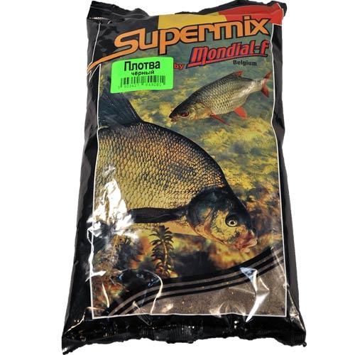 Прикормка Mondial-F Supermix Roach Black 1КгПрикормки<br>Прикормка Mondial-F Supermix ROACH Black 1кг плотва/чёрн./сух./1кг <br>MONDIAL-F – это бельгийские прикормки эконом-класса. <br>Прикормки отличает оригинальная рецептура, <br>обеспечивающая высокую эффективность при <br>очень привлекательной цене, именно поэтому <br>они столь популярны в Европе. Ассортимент <br>представлен тремя сериями, включающими <br>в себя как универсальные, так и специализированные <br>прикормки. серия Supermix наиболее широкая, <br>здесь можно подобрать прикормку практически <br>для любых условий<br><br>Сезон: лето