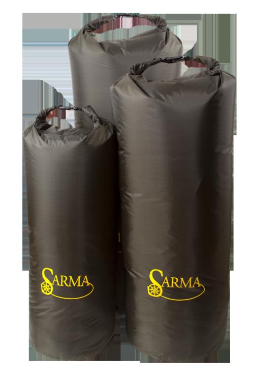 Баул туристический Sarma из водонепроницаемой Сумки<br>Описание: Легкий, вместимый баул для вещей <br>САРМА надежно защищает от влаги, пыли, <br>песка и грязи. Используется баул как в водном <br>туризме, так и на охоте и рыбалке. Изготовлен <br>из специального водонепроницаемого, легкого <br>материала (полиэстер+пвх). Верхняя часть <br>баула закрывается герметично благодаря <br>специальному сворачивающемуся клапану. <br>Рекомендуется делать скрутку плотно, не <br>менее трех оборотов. Клапан, благодаря такой <br>конструкции обеспечивает оптимальный объем <br>баула и служит удобной ручкой для его переноски. <br>Конструкция баула и свойства материала, <br>обеспечат герметичность при погружении <br>баула в воду. Цвет изделия: оливковый, оранжевый <br>Упаковка: индивидуальная Вес изделия: 0,5кг <br>Материал изделия: полиэстер+пвх<br><br>Цвет: оливковый<br>Материал: ПВХ