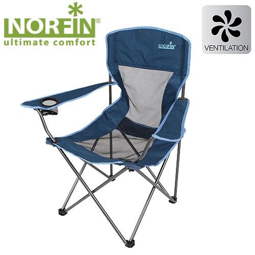 Кресло Складное Norfin Raisio NflСтулья, кресла<br>Кресло склад. Norfin RAISIO NFL Карк.сталь16мм/разм.54x42x43/95см/вес2,6кг/ <br>нагр.100кг/тр.разм.23x22x93см Кресло складное. <br>Кресло максимально комфортно в условиях <br>жаркого климата, т.к спинка выполнена из <br>прочной сетчатой ткани. Подлокотник с подставкой <br>для напитков характеристики и материалы: <br>габариты (см): 54x42x43/95 Размер в сложенном <br>виде (см): 23x22x93 Вес (кг) 2,6 Максимальная нагрузка <br>(кг) 100 Материал: 600D polyester Каркас: сталь 16 <br>мм Комплектуется сумкой-чехлом для удобства <br>транспортировки<br><br>Цвет: синий
