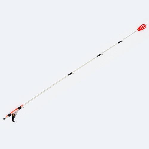 Сторожок Whisker Pro Click 1,5 35См/тест 1,5ГСторожки<br>Сторожок WHISKER PRO Click 1,5 35см/тест 1,5г Посадочный <br>диаметр коннектора 1,5мм/дл.35см./тест 1,5гр. <br>Сторожок Whisker Pro click 1,5 35см 1,5гр - регулируемый <br>кивок для ловли рыбы в условиях слабого <br>течения и ветра на мормышки весом 1,2 - 3 гр. <br>Оптимален для глубин до 6 метров. Регулировка <br>рабочей длины кивка производится в районе <br>коннектора, увеличивая грузоподъемность <br>кивка. Коннектор содержит эксцентричный <br>зажимной механизм с защёлкой, позволяющий <br>надежно зафиксировать кивок на хлысте удилища <br>без риска его поломки. Ветроустойчивое <br>яркое перо на конце кивка делают кивок замечательно <br>заметным на любом фоне. Рекомендуется применять <br>с самозажимным мотовилом Whisker. Посадочный <br>диаметр коннектора 1,5 мм.<br><br>Сезон: лето
