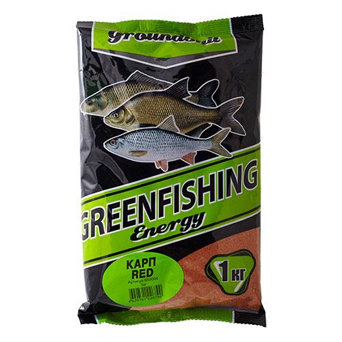Прикормка Gf Energy Карп Red 1.000КгПрикормки<br>Прикормка GF Energy КАРП Red 1.000кг пакет 1кг/ароматика: <br>специализированная/цвет: красный «Greenfishing <br>Energy»- новая серия первоклассной прикормки <br>от Компании «Энергия», созданная по оригинальному <br>рецепту, с использованием только лучших <br>ингредиентов от ведущих производителей <br>РФ и Европы. Это тяжелая прикормка с мелкой <br>и средней фракцией, ароматы и цвет ярко <br>выраженные, очень стойкие за счет использования <br>оригинальных технологий и современного <br>оборудования, выходит в виде целевых прикормок, <br>в каждой из которых тщательным образом <br>подобран состав, цвет и аромат к тому или <br>иному виду рыб и условиям ловли. Состав: <br>Бисквит, лен, конопля, кукуруза, злаковые, <br>сахар, соль, утяжелитель, куркума, специи, <br>пеллетс, пищевой краситель, ароматизаторы.<br><br>Сезон: лето
