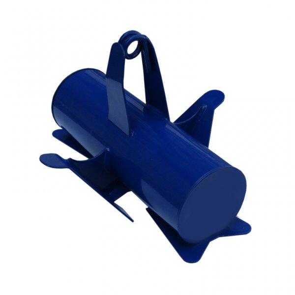 Якорь лодочный ЯЛ-06 (13кг)Якоря и якорные концы<br>Якорь лодочный ЯЛ-06 предназначен для удержания <br>плавсредства на месте стоянки. Якорь состоит <br>из: стального корпуса, 4-х грунтозацепов <br>и кронштейна для крепления троса. Благодаря <br>большой тяжести якоря и наличия 4-х грунтозацепов, <br>якорь может эффективно использоваться <br>на водоёмах с различной скоростью течения <br>и рельефом дна. Вес якоря - 13 кг. Габариты: <br>300х240х210мм. Якорь упакован в чехол из прочного <br>материала (Оксфорд 600Д).<br>