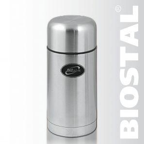 Термос Biostal NТ-750 0,75 (широкое горло, суповой)Термосы<br>Легкий и прочный Сохраняет напитки горячими <br>или холодными долгое время Изготовлен из <br>высококачественной нержавеющей стали Предназначен <br>для первых и вторых блюд С чехлом для хранения <br>и переноски термоса Пробка с дополнительной <br>теплоизоляцией, и клапаном, облегчающим <br>открытие термоса Характеристики: Объем: <br>0,75 литра Высота: 19,5 см Диаметр: 10,2 см Вес: <br>670 г Размеры упаковки: 11,5х11,5х21,3 см<br>