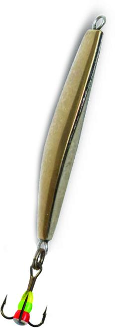 Блесна зимняя SWD DIJ 011 (37мм, вес 5г, 2 коронки Блесны<br>Зимняя вертикальная паянная блесна с 2-мя <br>коронками (с одной стороны никель, с другой <br>латунь). Предназначена для отвесного блеснения. <br>Длина 37мм, вес 5г. Оснащена тройником №10 <br>со светонакопительной каплей. Упакована <br>в блистер.<br>