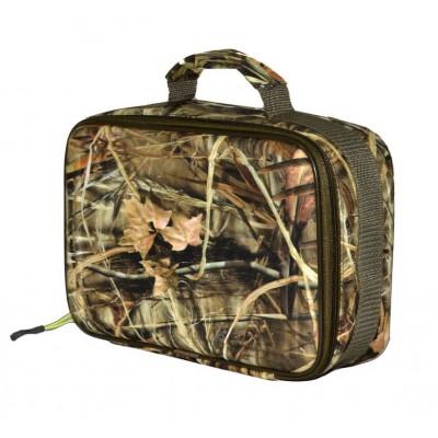 Сумка Aquatic для аксессуаров 27х16 х10Сумки<br>Небольшая полужесткая сумка на молнии <br>всегда пригодится охотнику. В нее можно <br>сложить патроны, бинокль, нож, рации и другие <br>небольшие, но необходимые аксессуары. Размеры: <br>27 х 16 х10 см<br>