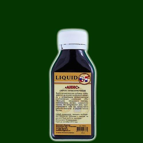 АроматизаторGfLiquidАнис0.100ЛАроматизаторы<br>АроматизаторGFLIQUIDАнис0.100л анис/100мл <br>Производится на основе Кукурузной Мелласы <br>с добавлением ароматизаторов изготовленных <br>во Франции, кукурузного глютена, аминокислоты <br>Бетаин и кукурузного сиропа. А также ряда <br>химических элементов, стимулирующих аппетит <br>рыбы. Имеют различные ароматы. На сегодняшний <br>день зарекомендовали себя как чрезвычайно <br>рабочие жидкости в средней полосе России. <br>Способ применения: замешать необходимое <br>количество прикормки с экстрактом, из расчета <br>10 мл на 0,5 кг прикормки, использовать по <br>назначению.<br><br>Сезон: лето
