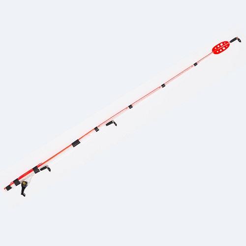 Сторожок Whisker Spool Click 1,5 30См/тест 0,5ГСторожки<br>Сторожок WHISKER spool Click 1,5 30см/тест 0,5г Посадочный <br>диаметр коннектора 1,5мм/дл.35см./тест 0,5гр. <br>Сторожок Whisker Spool click 1,5 (30см, 0,5гр) - регулируемый <br>кивок для ловли рыбы со скользящей оснасткой <br>в условиях стоячей воды без ветра, на мелкие <br>мормышки весом 0,3 - 0,8 гр. Оптимален для глубин <br>до 3 метров. Регулировка рабочей длины кивка <br>производится в районе коннектора, увеличивая <br>грузоподъемность кивка. Коннектор содержит <br>эксцентричный зажимной механизм с защёлкой, <br>позволяющий надежно зафиксировать кивок <br>на хлысте удилища без риска его поломки. <br>Ветроустойчивое яркое перо на конце кивка <br>делают кивок замечательно заметным на любом <br>фоне. Посадочный диаметр коннектора 1,5 мм. <br>Требуется снятие с удочки концевого кольца-тюльпана.<br><br>Сезон: лето