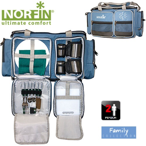Термосумка Norfin Kitee Nfl С Посудой NFL-40101