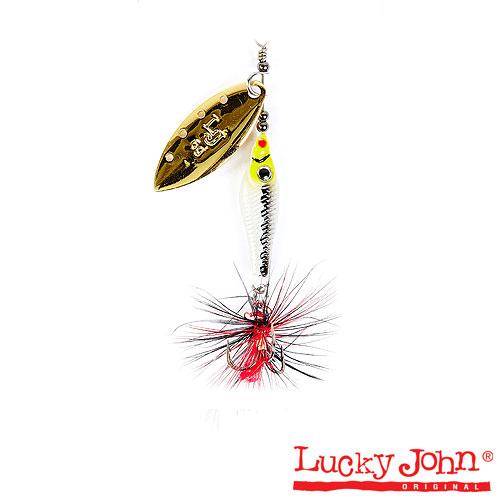Блесна Вращающаяся Lucky John Trian Blade Long 09.0Г • 004