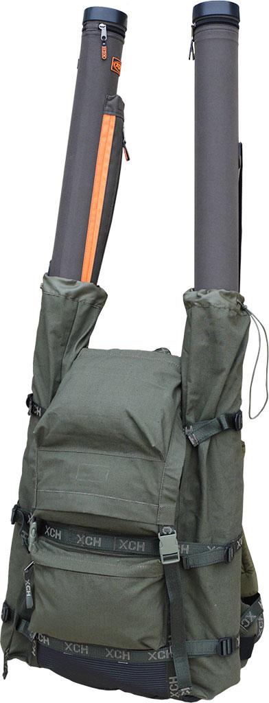 Рюкзак охотника ХСН №2 (экспедиционный)Рюкзаки<br>Отлично подойдет для походов, экспедиций <br>и туризма. Изготовлен из ткани авизент со <br>специальной водоотталкивающей и искрогасящей <br>пропиткой. Объём 100 литров. Особенности: <br>- анатомически удобные лямки; - наличие стабилизирующих <br>строп на плечевых лямках; - специальный <br>карман для оружия; - наличие грудного фиксатора; <br>- спина с вентиляцией; - наличие поясного <br>ремня; - шнур, затягивающий основной вход; <br>- боковые карманы из сетки; - пряжки-самосбросы; <br>- возможность регулируровки высота плечевых <br>лямок; - наружные карманы, застегивающиеся <br>на молнию; - карман на молнии в крышке рюкзака; <br>- специальные компрессионные ремни; - точки <br>крепления в виде полуколец на лямках.<br><br>Пол: унисекс<br>Сезон: все сезоны<br>Цвет: оливковый<br>Материал: Oxford 600 D ПВХ
