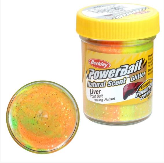 Паста форелевая Berkley NATURAL SCENT TROUT BAIT 50gr LIVER Насадки<br>Паста имеет запах и вкус, которые так нравятся <br>форели! Проверено при ловле в различных <br>условиях. - Аромат PowerBait - натуральные запахи <br>- исключительно эффективная приманка - мощный <br>аттрактант<br>