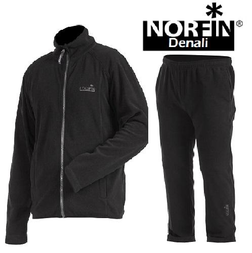 Костюм Флисовый Norfin DenaliКостюмы флисовые<br>Костюм флис. Norfin DENALI 01 р.S разм.S/курт.,штаны/мат.полиэстер/цв.чёрн. <br>Функциональный удобный теплый костюм из <br>мягкого флиса. Дизайн и свободный покрой <br>костюма позволяет его использование не <br>только как верхней одежды, но и как утеплительный <br>слой в сильный холод. КУРТКА: Высокий воротник <br>Передняя застежка-молния Дополнительная <br>вентиляция в области подмышек Фиксатор, <br>стягивающий низ куртки ШТАНЫ Мягкий материал <br>Эластичный пояс Материал:NORfleece Micro(100% <br>полиэстер )<br><br>Пол: мужской<br>Размер: S<br>Сезон: демисезонный<br>Цвет: черный