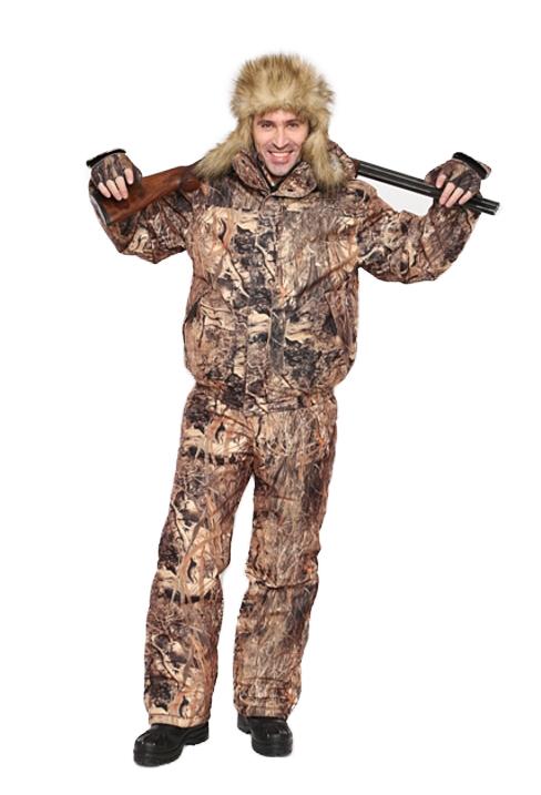 Костюм мужской Вихрь зимний кмф алова Костюмы утепленные<br>Камуфлированный универсальный демисезонный <br>костюм для охоты, рыбалки и активного отдыха. <br>Состоит из укороченной куртки с капюшоном <br>и брюк. Куртка: • Регулируемый капюшон - <br>воротник на флисе. • Центральная застежка <br>молния закрыта ветрозащитной планкой на <br>кнопках. • Нижние прорезные карманы на <br>молнию, нагрудные накладные карманы с клапаном <br>на кнопке и накладной карман с клапаном <br>на кнопке на рукаве. • Низ куртки и манжеты <br>на широкой резинке. Брюки: • Пояс со шлевками <br>на широкой резинке по бокам. • Застедка <br>центральная на молнию.. • Два боковых прорезных <br>кармана и один накладной боковой с клапаном <br>на кнопке • Талия регулируется резинкой. <br>• Низ брюк регулируется шнуром с фиксатором.<br><br>Пол: мужской<br>Размер: 44-46<br>Рост: 182-188<br>Сезон: зима<br>Цвет: бежевый<br>Материал: Алова (100% полиэстер) пл. 225 г/м.кв - трикот.полотно