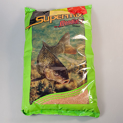Прикормка Mondial-F Supermix Carp Strawberry 2.5Кг