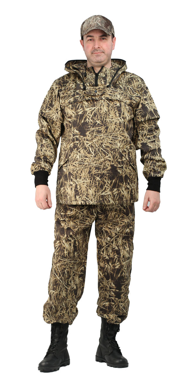 Костюм противоэнцефалитный летний, тк. Костюмы противоэнцефалитные<br>Куртка и брюки. Куртка - с капюшоном, - со <br>съемной вставкой из противомоскитной сетки <br>на молнии, - с накладными нагрудными карманами <br>с клапаном. - рукава с трикотажными напульсниками. <br>- с налокотниками. Брюки - прямые с эластичной <br>лентой в притачном поясе со шлевками, - с <br>трикотажными манжетами по низу брюк. - с <br>наколенниками<br><br>Пол: мужской<br>Размер: 56-58<br>Рост: 170-176<br>Сезон: лето<br>Цвет: бежевый