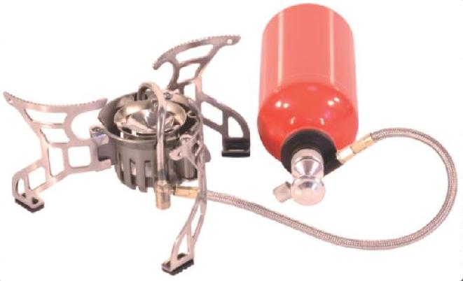 Горелка мультитопливная СЛЕДОПЫТ Огонь Горелки<br>ХАРАКТЕРИСТИКИ: Мощность горелки: - на газовом <br>топливе 3,5 кВт. - на жидком топливе 3,5 кВт. <br>Диаметр горелки: 50 мм. Вес горелки: 380 гр. <br>Вес баллона в сборе с насосом: 210 гр. Размер <br>горелки в разложенном виде: диаметр -200 мм. <br>высота - 90 мм. Размер горелки в походном <br>положении: 95х 95 х 90 мм. Размер баллона в сборе <br>с насосом:220 х 70 х 70 мм. Макс. диаметр используемой <br>посуды: 250 мм. Максимальная вертикальная <br>нагрузка: 20 кг. (20 л. воды).<br>
