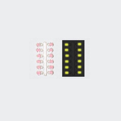 Подвес-Серьга Микро-Бис Шар Розов. Светонакоп • 3.1Мм К 12Шт. 61-581