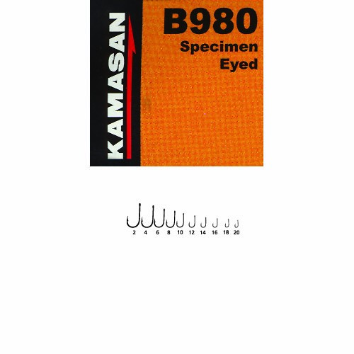 Крючки Kamasan Сер.в 980 Разм.008 10Шт. B980-008