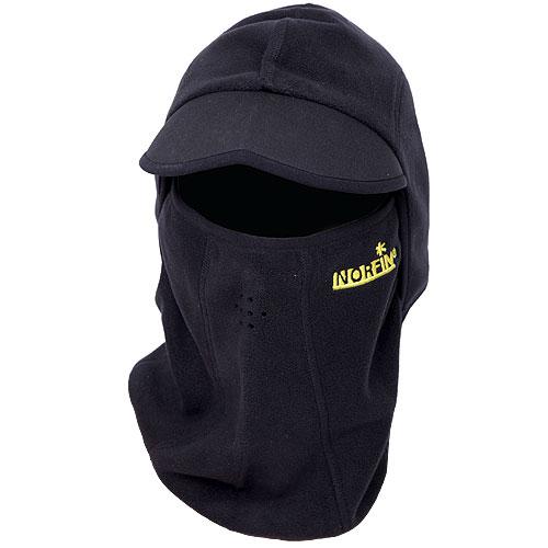 Шапка-Маска Norfin ExtremeБалаклавы, маски<br>Шапка-маска Norfin EXTREME р.L разм.L/мат.полиэстер/цв.чёрн. <br>Шапка-маска из полиэстера,<br><br>Пол: мужской<br>Размер: L<br>Сезон: зима<br>Цвет: черный