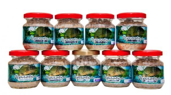 Перловка консервир. 105г карамельНасадки<br>Перловка консервированная готовая насадка <br>для ловли рыб. Выпускается с разными ароматами. <br>Является универсальной насадкой. Ловят <br>на перловку плотву, леща, карася.<br>