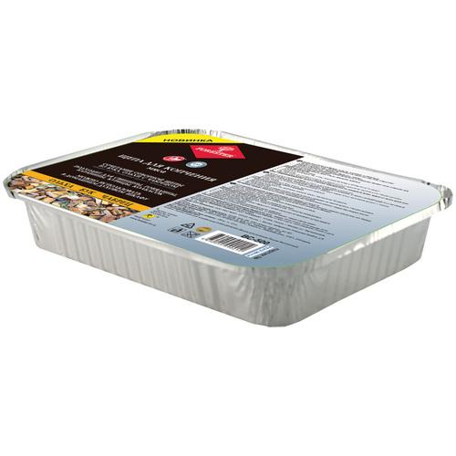 Щепа FORESTER в коробке для мясаЩепа для копчения<br>Щепа из бука, ольхи и чабреца идеальна для <br>копчения мяса. Характеристики Общие Тип: <br>аксессуары для мангалов Размеры и вес Размеры: <br>18,7 х 13,5 х 3 см Размеры упаковки: 3,5 х 38 х 38 <br>см Вес: 0.16 кг Вес упаковки: 0.17 кг Комплектация: <br>щепа со специей в касалетке Цвет: коричневый <br>Страна-производитель: Россия<br>