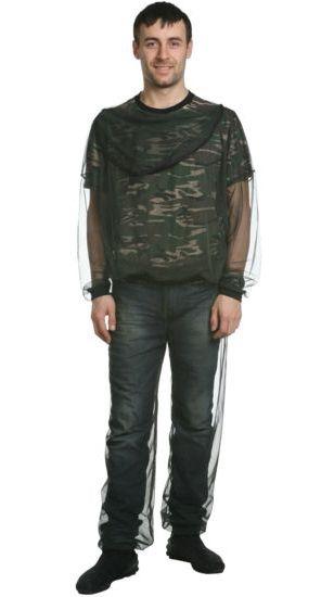Комплект мужской Стоп-Москит (Неизвестная Костюмы противоэнцефалитные<br>Костюм из сетки для защиты от комаров Стоп-Москит. <br>100% полиэстер. Лицеваяф часть капюшона пристегивается <br>к затылочной на застежку-молнию. Низ рукавов <br>куртки на резинке.<br><br>Пол: мужской<br>Сезон: лето<br>Материал: полиэстер
