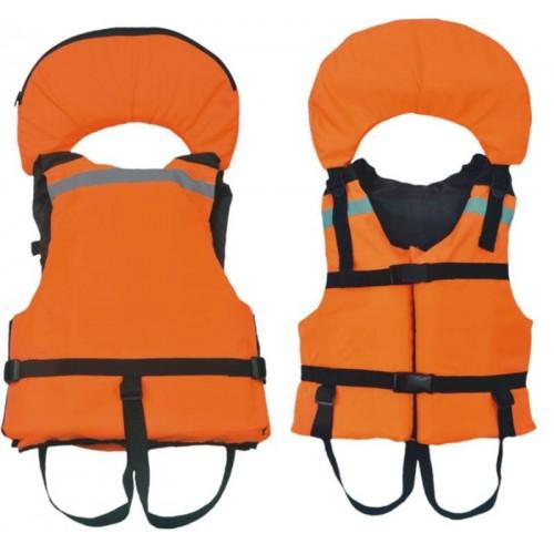 Жилет страховочный Поплавок-3 р.40-42 (оранж.)Спасательные средства<br>Жилет страховочный «Поплавок-3» Описание <br>модели: Предназначен для использования <br>при проведении работ на плавсредствах, <br>для водных видов спорта, рыбалки, охоты. <br>Жилет является индивидуальным страховочным <br>средством, регулируется по фигуре человека <br>при помощи системы строп. Одевается через <br>голову. Паховые страховочные ремни. Ткань <br>верха: Oxford Внутренняя ткань: Taffeta Наполнитель: <br>плавучий НПЭ. Рекомендуемый вес не более: <br>размер 40-44 — 40 кг. Цвет: оранжевый Застежка: <br>фастекс / пластик Плавучий воротник-подголовник<br>