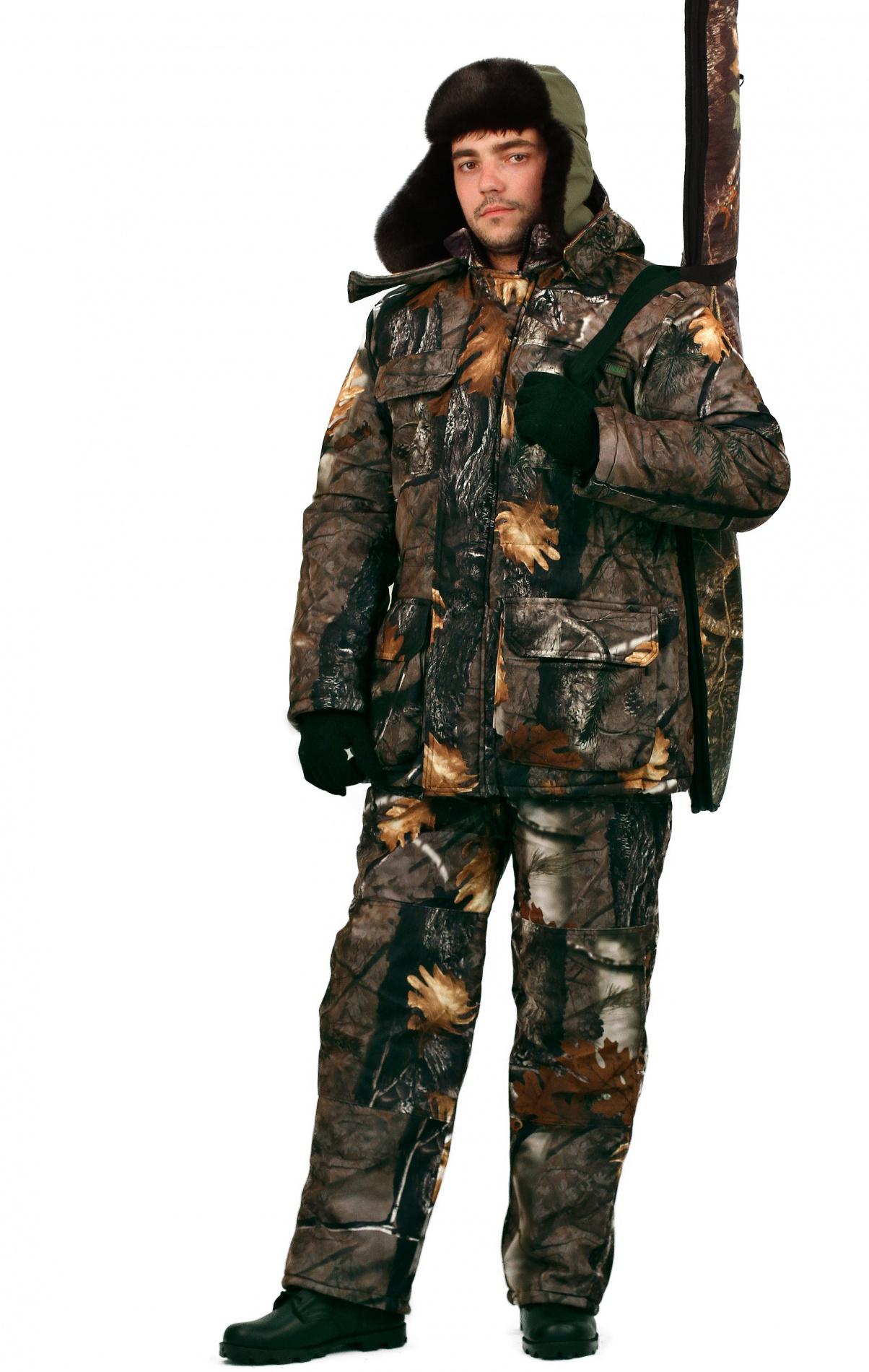 __Костюм мужской Nordwig Buran зимний кмф т.Алова Костюмы утепленные<br>Камуфлированный универсальный костюм <br>для охоты, рыбалки и активного отдыха при <br>низких температурах. Не шуршит. Состоит <br>из удлинненной куртки с капюшоном и полукомбинезона. <br>Куртка: • Отстегивающийся и регулируемый <br>капюшон. • Центральная застежка молния <br>с ветрозащитной планкой и контактной лентой. <br>• Боковые и нагрудные накладные карманы <br>с клапанами. • Усиление в области локтей. <br>• Манжеты на резинке Полукомбинезон: • <br>Закрывает грудь и спину. • Застежка с двухзамковой <br>молнией. • Боковые карманы. • Бретели регулируемые. <br>• Талия регулируется резинкой • Наколенники <br>с отверстиями для амортизационных накладок.<br><br>Пол: мужской<br>Размер: 64-66<br>Рост: 182-188<br>Сезон: зима<br>Цвет: коричневый