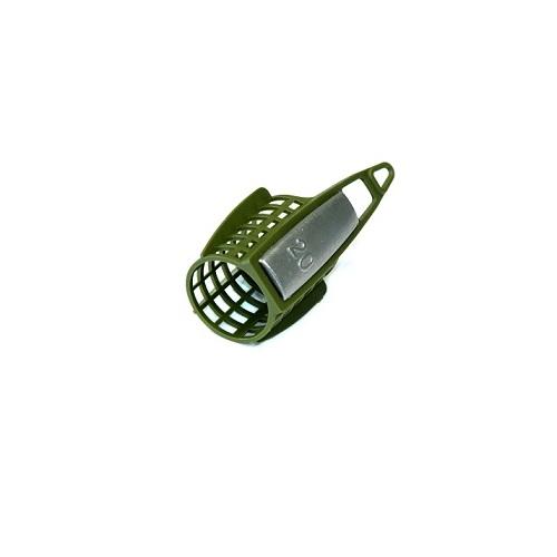 Кормушка Фидерная Salmo Мал. Пласт. 100ГКормушка фидер. Salmo мал. пласт. 100г диам.30мм/дл.40мм/вес <br>100г/мат.пласт./кол в уп.10 Кормушка для ловли <br>рыбы со дна с использованием прикормки. <br>Кормушка изготовлена из пластика и оснащена <br>грузом из свинца. Обладает аэродинамической <br>формой, что позволяет делать дальние забросы. <br>В ассортименте представлены кормушки как <br>для ловли в стоячей воде, так и на течении.<br><br>Сезон: Летний
