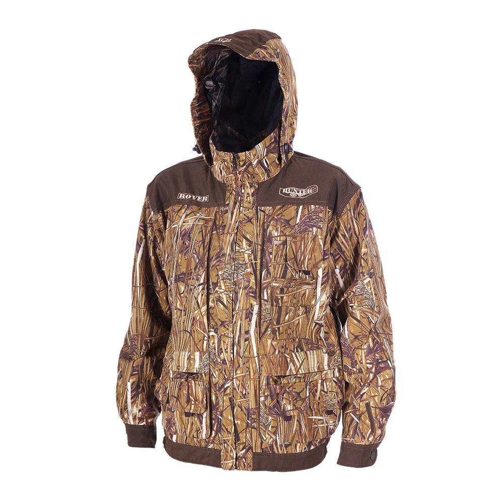 Куртка ХСН «Ровер-охотник» (9792-7) (Осока, Куртки неутепленные<br>Отлично подойдет любителям охоты и активного <br>отдыха. Куртка изготовлена из нешуршащей <br>хлопкоэфирной ткани с водоотталкивающей <br>пропиткой. Комфортная температура эксплуатации: <br>от +10°С до +20°С. Особенности: - утягивающийся <br>съемный капюшон с козырьком; - вшитая противомоскитная <br>сетка; - 11 объемных карманов, позволяющих <br>удобно разместить в них флягу, телефон и <br>все необходимое; - особый крой рукава, обеспечивающий <br>свободу движения; - застегивается на молнию; <br>- усиленная ткань на плечах; - манжеты на <br>пуговицах с возможностью регулировки ширины; <br>- двойной джинсовый запошивочный шов.<br><br>Пол: мужской<br>Размер: 46 - 48 / 182<br>Сезон: лето<br>Цвет: коричневый<br>Материал: Хлопкополиэфирная ткань
