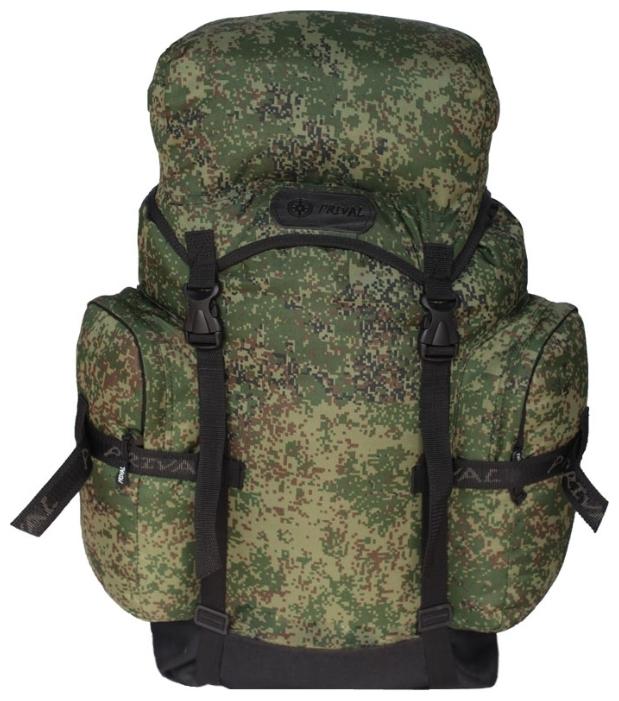 """Рюкзак Кузьмич PRIVAL 45л (цифра)Рюкзаки<br>Многофункциональный легкий и компактный <br>рюкзак """"Кузьмич"""" предназначен для туристов, <br>охотников и рыболовов. Удобная конструкция <br>делает его практичным и надежным, а компактность <br>и относительная простота обеспечивает <br>хорошую мобильность. Материал рюкзака не <br>впитывает влагу. По бокам """"Кузьмич"""" снабжён <br>двумя большими наружными карманами, обеспечивающими <br>быстрый и удобный доступ к часто используемым <br>предметам. Также рюкзак имеет удобную ручку <br>для переноса и верхний плавающий карман <br>- клапан для мелочей. Назначение: Туризм, <br>рыбалка, охота Число лямок: 2 Тип конструкции: <br>Мягкий Грудная стяжка: Есть Поясной ремень: <br>Есть Боковая стяжка: Нет Клапан: Есть; рюкзак <br>убирается в карман клапана Ткань: Poly Oxford <br>600D PU RipStop; Polyester 1000D Объём, л: 45; 55 Фурнитура: <br>ABS пластик; молнии № 10 Вес, кг: 0,56; 0,7 Цвет: <br>Черный, Камуфляж, Хаки<br><br>Пол: унисекс<br>Цвет: зеленый"""