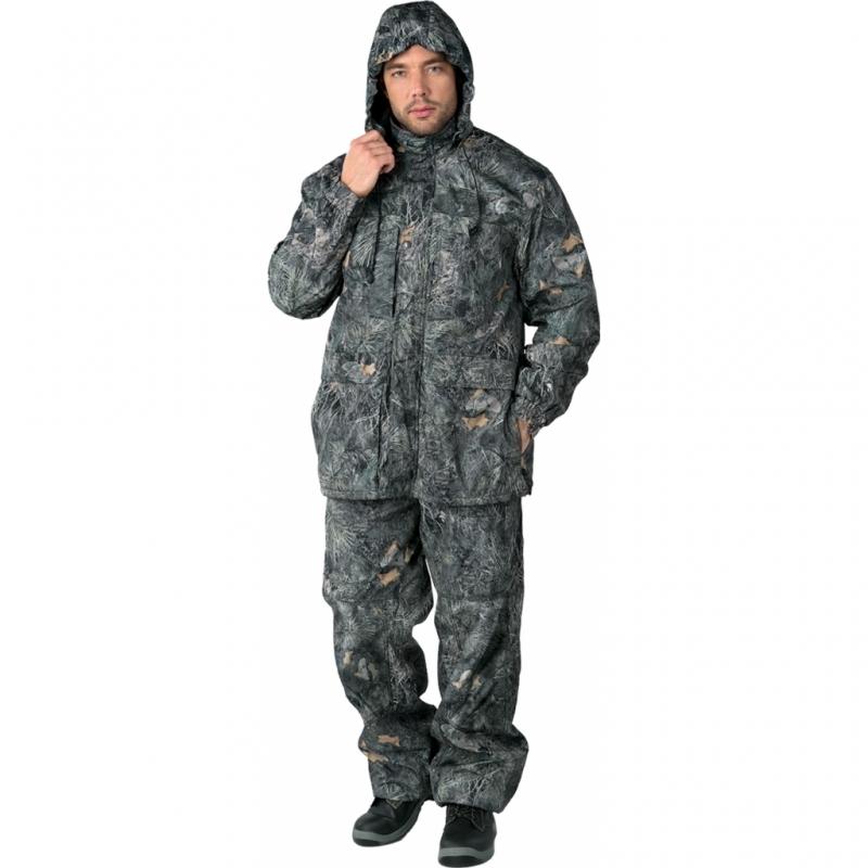 Костюм Sobol БЕКАС, КМФ серый (60-62, 182-188)Костюмы неутепленные<br>Костюм разработан специально для любителей <br>активного отдыха, охоты и рыбалки. В куртке <br>и брюках имеется съемная флисовая подстежка, <br>которую можно носить отдельно. Изготовлен <br>из мембранной ткани, которая прекрасно <br>защитит от ветра и дождя. В комплект входит <br>куртка и брюки. КУРТКА: - застегивается на <br>молнию с ветрозащитным клапаном на кнопках; <br>- нагрудные карманы, застегивающиеся на <br>молнию; - нижние накладные карманы с двумя <br>входами; - регулировка объема с помощью <br>шнура внизу; - эластичные манжеты; - регулируемый <br>съемный капюшон. БРЮКИ: - эластичный пояс; <br>- увеличенная к среднему шву ширина пояса <br>для надежной защиты поясницы от холода <br>и ветра; - застежка - гульф на тесьму-молнию; <br>- боковые и задние карманы; - шлевки под ремень; <br>- возможность регулировки ширины брюк с <br>помощью шнура.<br><br>Пол: мужской<br>Размер: 60-62<br>Рост: 182-188<br>Сезон: демисезонный<br>Цвет: серый