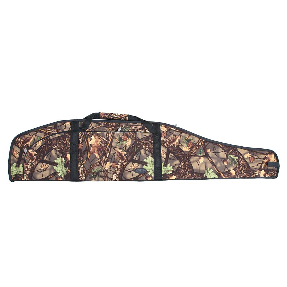 Чехол ружейный ХСН папка «Лес» с оптикой Чехлы для оружия<br>Предназначен для защиты оружия от повреждений, <br>пыли и влаги. Особенности: - чехол под оружие <br>с оптическим прицелом; - выполнен из прочного <br>материала; - 2 кармана на передней части <br>чехла; - вставка под затвор, чтобы не повредить <br>подклад чехла; - сетчатый карман внутри <br>чехла, для дополнительной фиксации ружья; <br>- петля для вертикального подвешивания <br>чехла.<br><br>Пол: мужской<br>Сезон: все сезоны<br>Материал: Ткань Алова